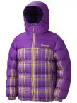 Girl's Guides Down Hoody-Plaid